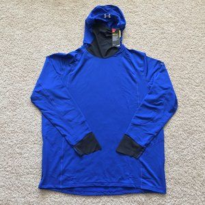 Under Armour ColdGear Run Balaclava Fitted Hoodie